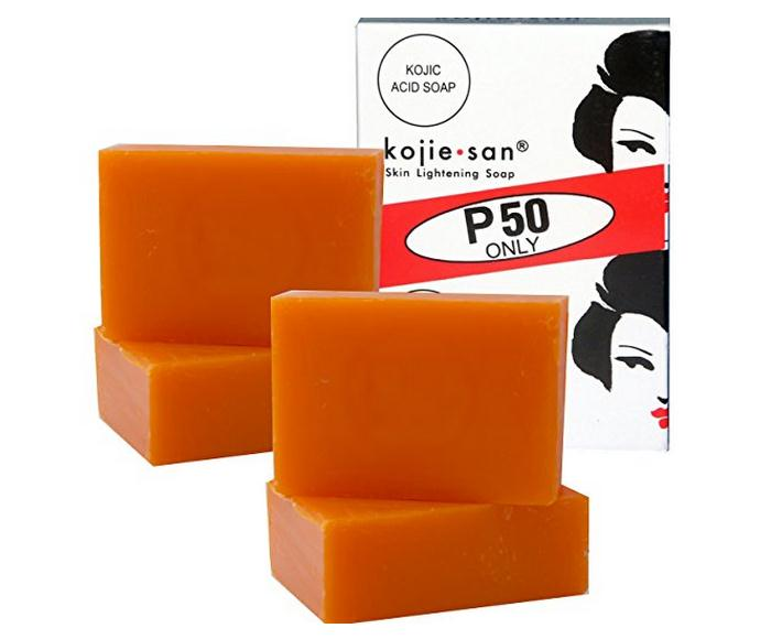 Free Delivery  4 Bars Kojie San Kojic Acid Soap Soap 65 Grams Per Bar