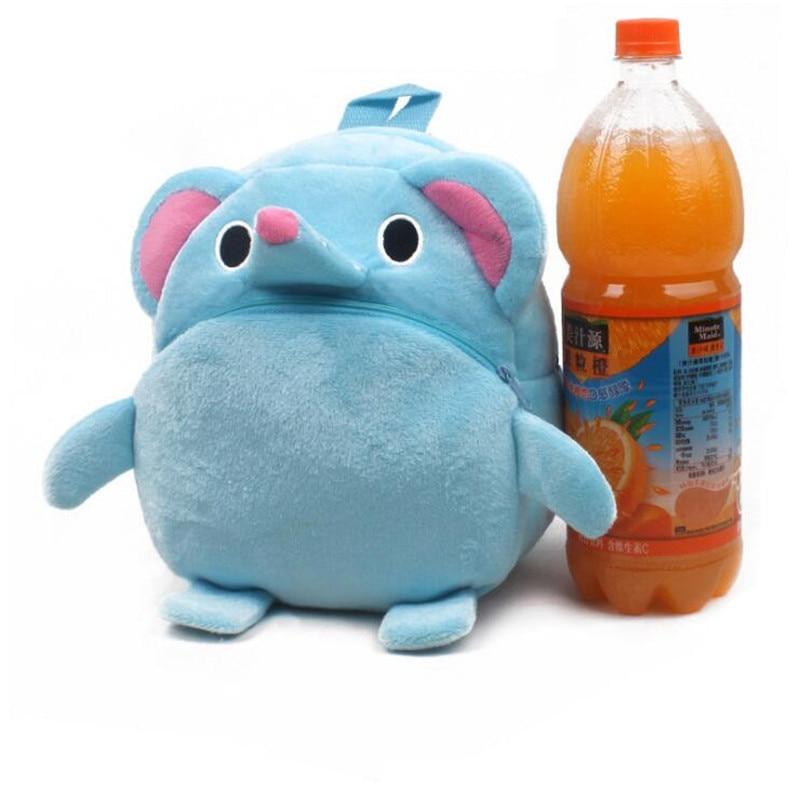 New-Arrival-Cute-Baby-Elephant-Cartoon-Plush-Children-Backpacks-Kids-School-Bags-Christmas-Gifts-4