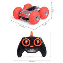 RC Car 2.4G 4CH Stunt Drift Deformation Buggy Rock Crawler Roll Cars 360 Degree Flip Robot Toys for Kids Gifts цена