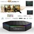 [Em estoque] T95Z Plus TV BOX 2 GB + 16 GB Android 6.0 Amlogic Octa S912 Dual Core WIFI 2.4G + 5G KODI 17.0 H.265 BT4.0 4 K Mídia jogador