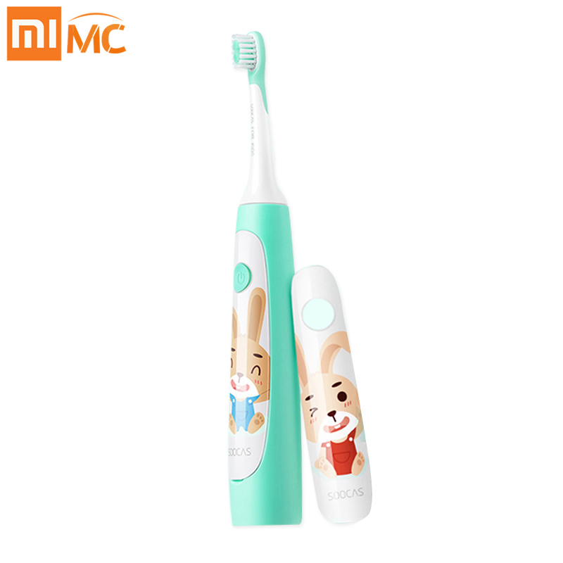 Xiaomi SOOCAS C1 Cute Waterproof Sonic Electric Toothbrush Kids Rechargeable Ultrasonic Toothbrush Dental Care Mijia Tooth Brush xiaomi mi a2 corte ingles