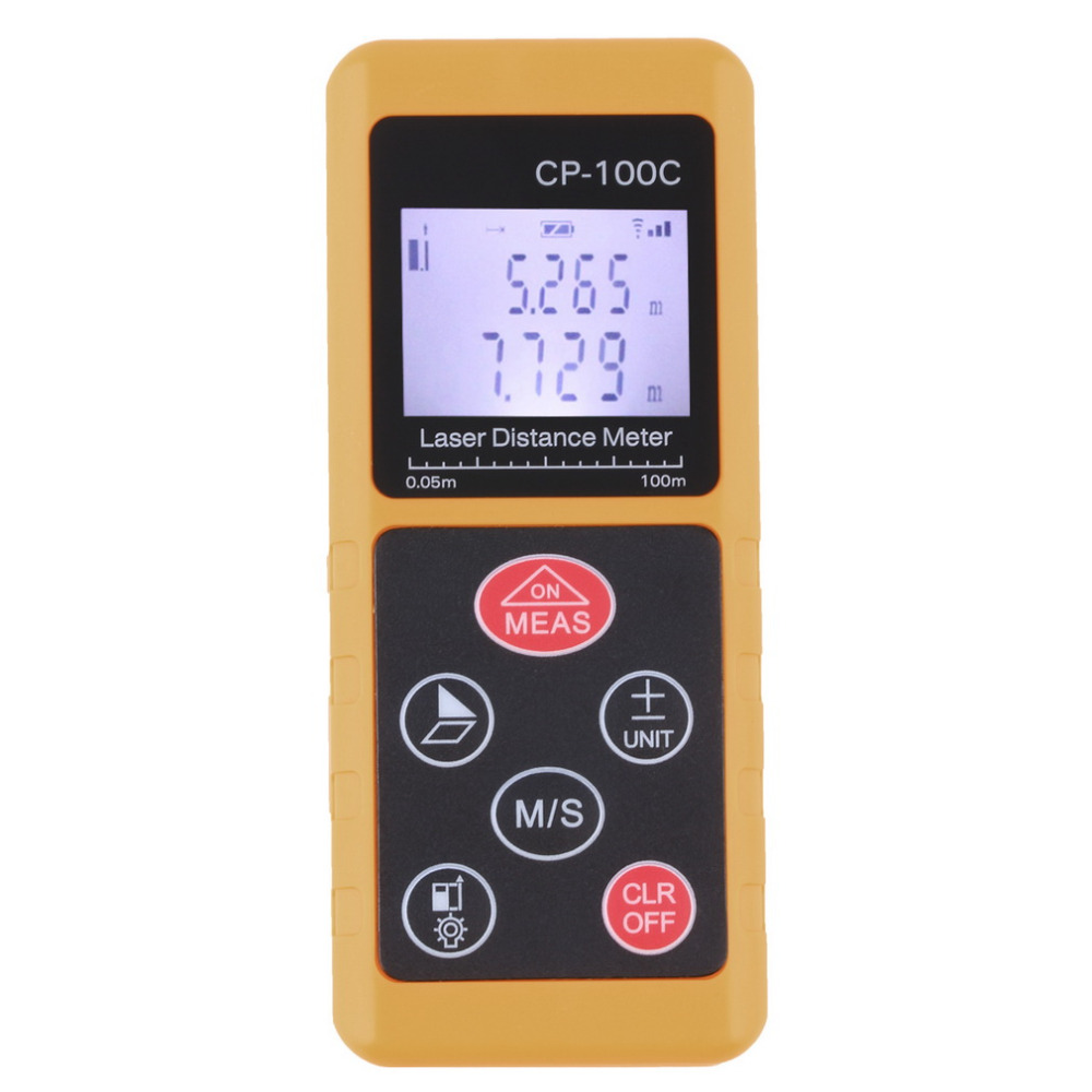 New  100m Handheld Digital Laser Distance Meter Range Finder Measure Diastimeter hot sale Brand Well Sell Free Shipping  цены
