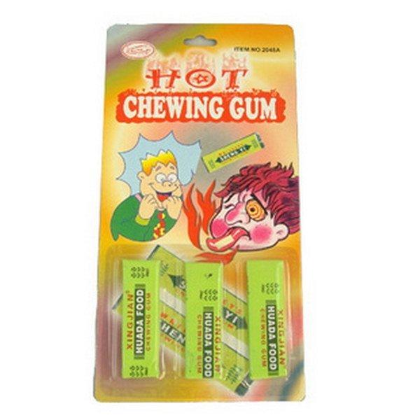 Funny Prank Trick 3x Hot chewing gum, Joke toys Wholesale ...