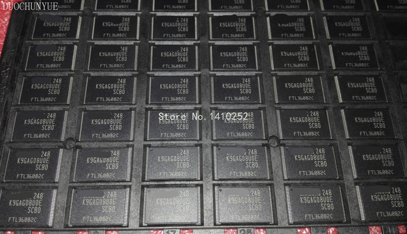 10pcs lot K9GAG08U0E K9GAG08UOE SCBO K9GAG08U0E SCB0 TSOP MODULE new in stock Free Shipping