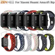 Colorful Silicone For Amazfit Bip Watchband Replace for Xiaomi Huami Band Bracelet Bit Wrist Strap