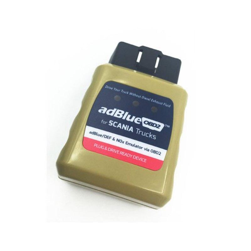 Emulador de Adblue Emulator AdblueOBD2 For Scania Trucks Scanner OBD2 Diesel Heavy Duty Truck Scan Tool Plug and Drive