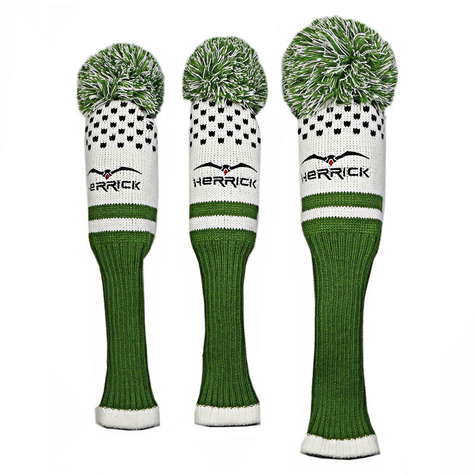 Image 2 - High quality affordable and durable wool knitted golf club headcover-in Golf Clubs from Sports & Entertainment