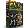 Grafika Bodhidharma Yi Jin Jing schemat Shaolin kung fu książka walki wyeliminować fizycznie i psychicznie upośledzone klasyczna książka