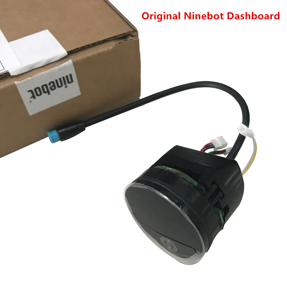 Original Ninebot Accessories Kit Electric Dashbord Assembly Dash Board for Kickscooter Ninebot ES1 ES2 ES3 ES4 ninebot electric scooter circuit board motherboard mainboard for ninebot kickscooter dashboard controller skateboard original