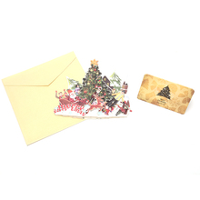 Merry Christmas 3D Pop up Cards