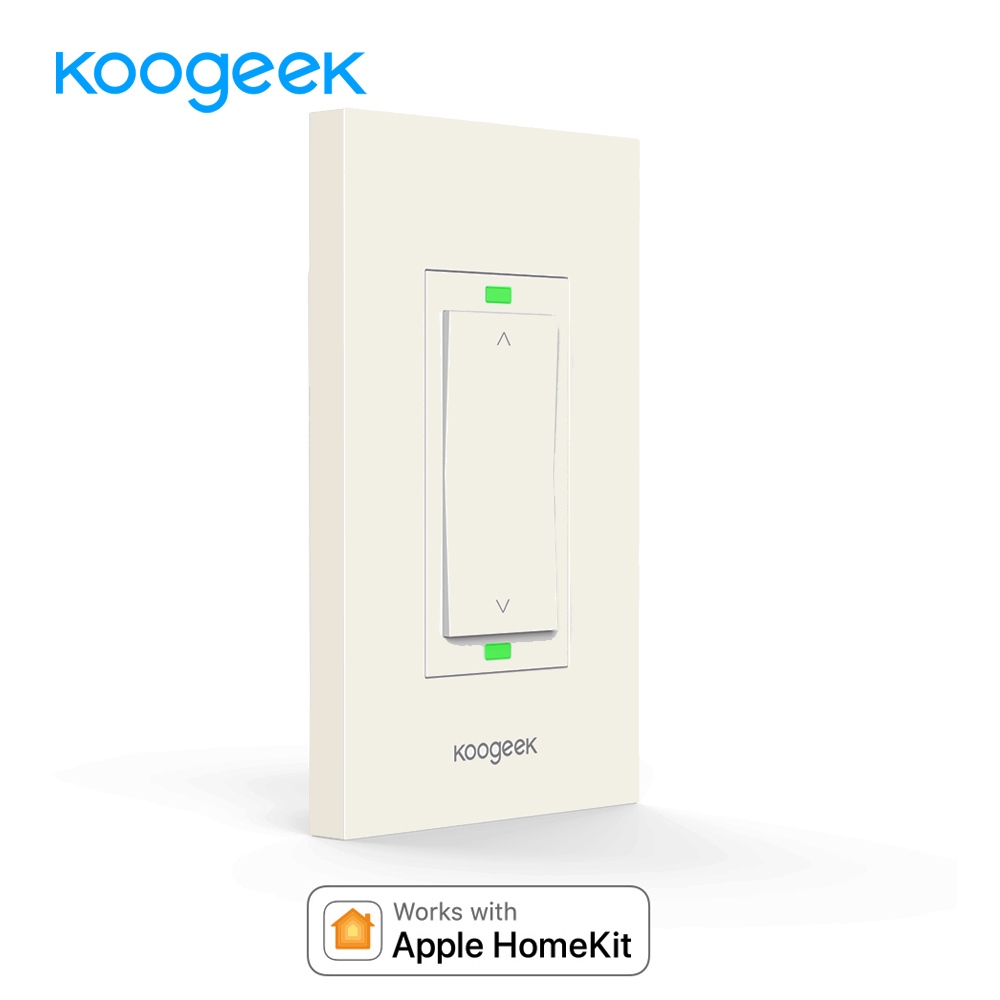 koogeek wifi switch smart light dimmer switch wireless remote control light switches for homekit. Black Bedroom Furniture Sets. Home Design Ideas