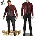 Стражи Galaxy косплей костюм Хэллоуин костюмы для взрослых Star Господь косплей костюм Star Господа куртка кожаный костюм