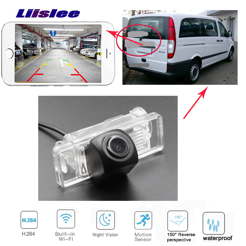 Car Rear View Reverse Back Up wireless Camera for Mercedes Benz Valente Vito Benz Vito W639 Benz Vito London Taxi Benz V-Class image