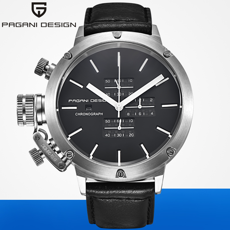 2019 Luxury Brand PAGANI DESIGN Watch Men Unique Innovative Sport Multifunction Waterproof Quartz Big Watches Relogio Masculino2019 Luxury Brand PAGANI DESIGN Watch Men Unique Innovative Sport Multifunction Waterproof Quartz Big Watches Relogio Masculino