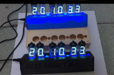 Бесплатная доставка NB-11 люминесцентных ламп, часы, DIY комплекты, vfd, комплекты, трубы, люминесцентные