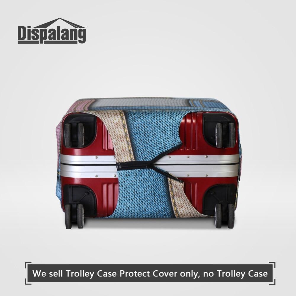 Dispalang 3D Nota Musical Impressão Caso Na Mala Para Bagagem de - Acessórios de viagem - Foto 4