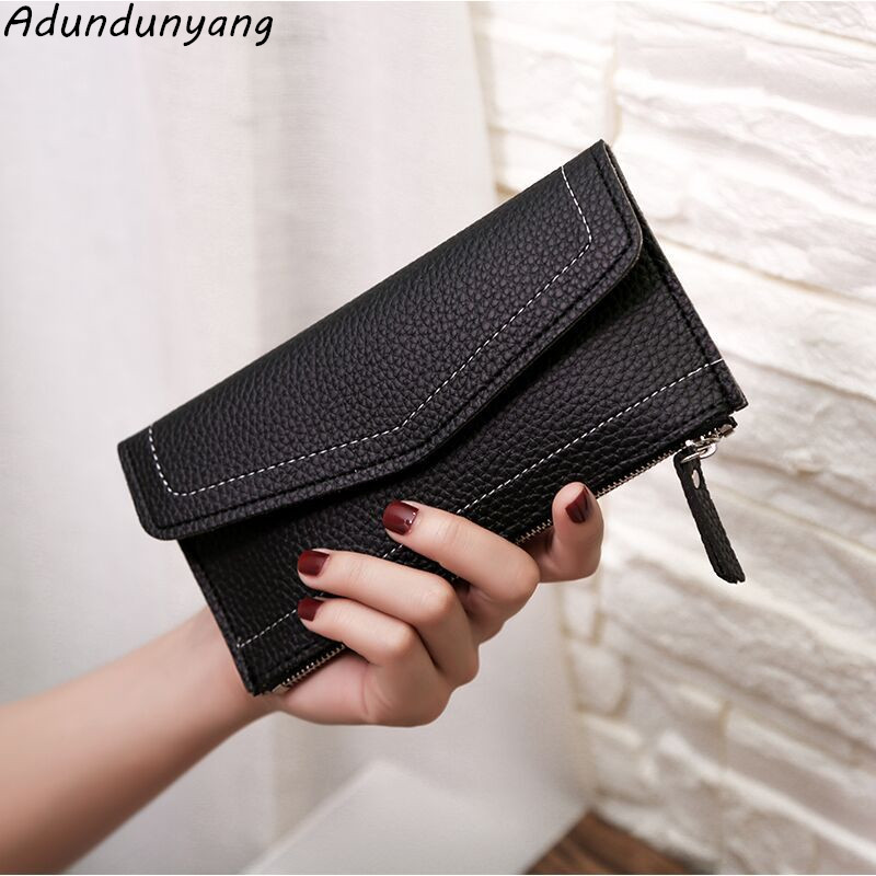 2018 Wallet Women Vintage Fashion Top Quality Small Wallet Leather Purse Female Money Bag Small Zipper Coin Pocket Brand Hot !! цена
