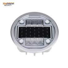 IP68 водонепроницаемый алюминиевый чехол на солнечных батареях дорожный светильник-гвоздик Светоотражающая наземПредупреждение льная лампа