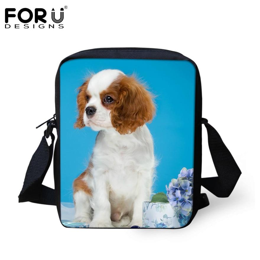 FORUDESIGNS/женская маленькая сумка через плечо с объемным рисунком собаки чихуахуа, модные женские сумки-мессенджеры, сумки через плечо - Цвет: H176E