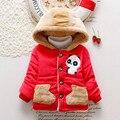 2016 New coat Winter Boy Brand coats baby Thickening Cartoon Panda Coats Super warm Children Fashion Cotton-padded clothes