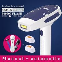 900000 flash IPL laser hair removal machine laser epilator hair removal permanent bikini trimmer electric depilador laser women