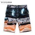 YVYVLOLO Novo 2016 Casual Shorts Homens Bermuda Shorts de Jersey Homme Homens Roupas Da Moda