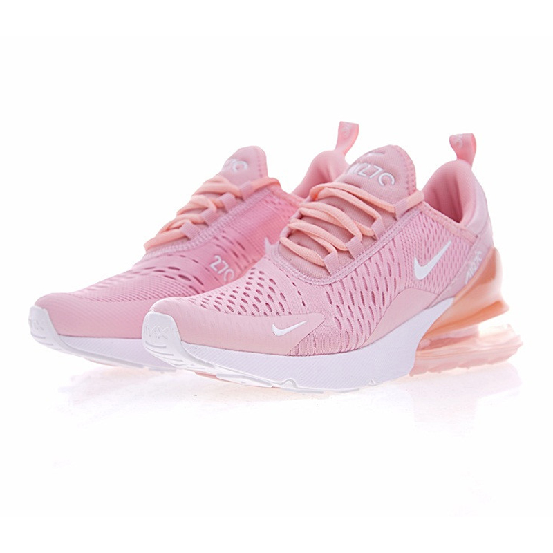 e45f186a50da0 ... discount nike air max 270 womens running shoes outdoor sneakers shoes  yellow pink breathable lightweight ah8050