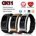 CK11 Smart Band Blood Pressure Heart Rate Blood Oxygen Bluetooth 4.0 Wrist Watch Intelligent Bracelet Fitness Tracker Pedometer