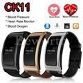 CK11 Smart Band Blood Pressure Heart Rate Blood Oxygen Bluetooth 4.0 Wrist Watch Intelligent Bracelet Fitness Tracker Pedometer