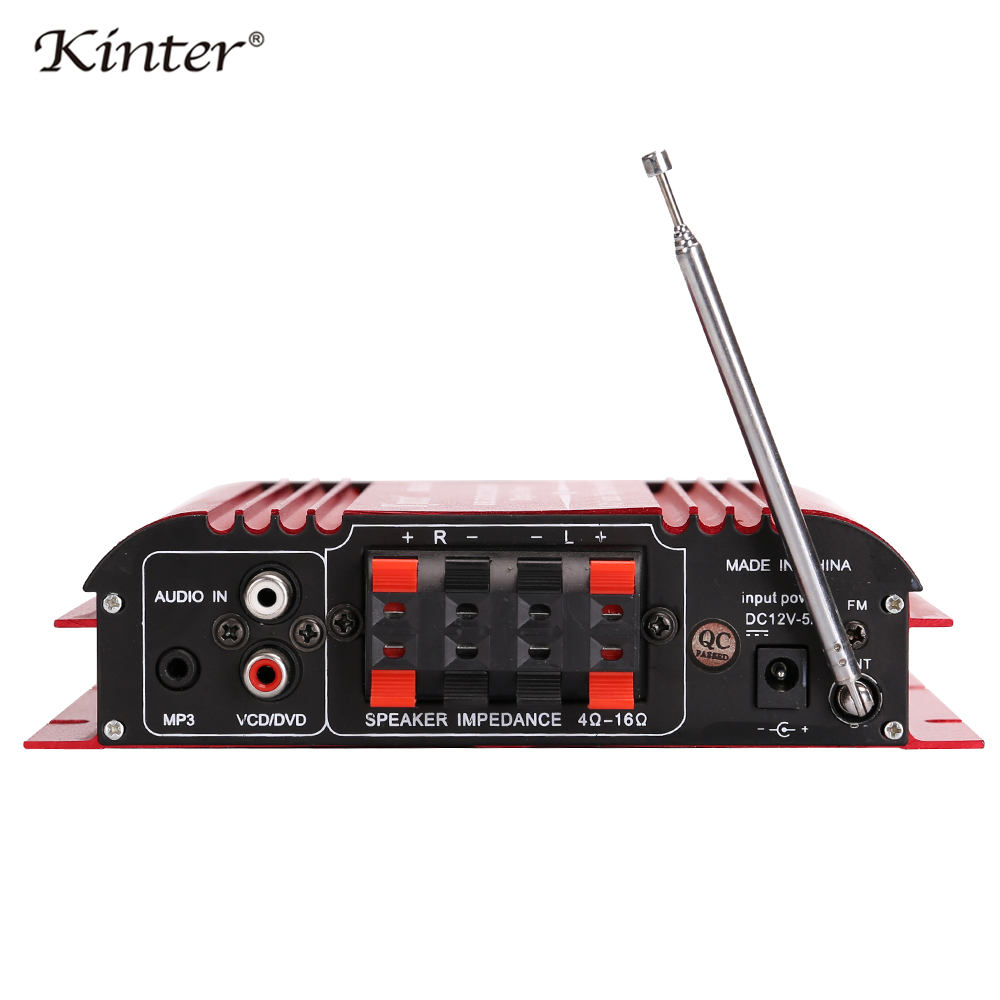 kinter MA 500 Sound Amplifiers Audio 4 Channel For Speaker Hifi Stereo With SD USB Bluetooth FM Radio Control Bass Trelbe Volume