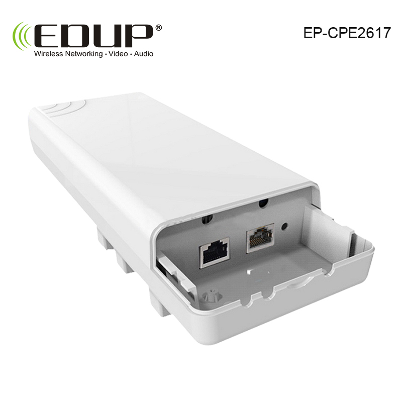 EDUP High Power 300Mbps 5.8ghz Outdoor WIFI CPE Wireless WIFI Repeater Long distance Bridge WIFI Signal Booster Amplifier 2 4ghz 8w wlan wifi wireless broadband amplifier signal booster for rc radio extend the distance
