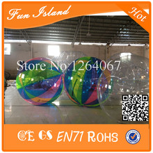Lowest Price 0.8mm PVC Colorful Inflatable Water Walking Ball Walk On Water Ball,Bubble Water Walking Ball,Human Hamster Ball