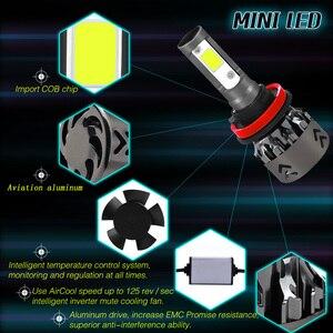 Image 2 - Новое поступление, автомобисветильник светодиодсветодиодный лампы H4 H7 H11 H1 H8 H9, автомобисветильник фары 9005 HB3 9006 HB4, автомобильные фары 12 В, лм, 36 Вт Светодиодный светильник