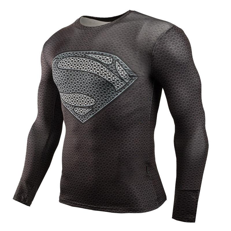 Superman Bodybuilding Long Sleeve Shirt 3 Types Free