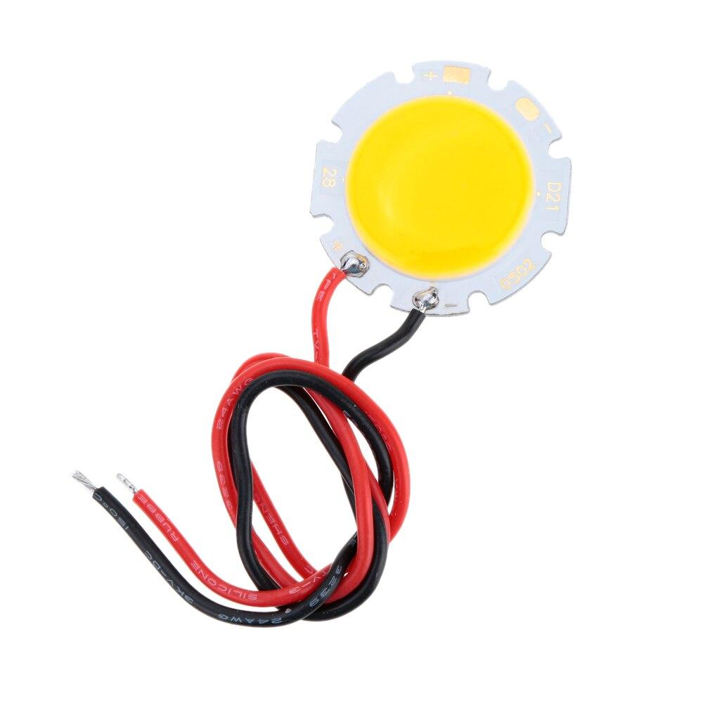 5 Watt 15 17 V DC LED Runde COB Chip Licht Lampe mit Draht High ...
