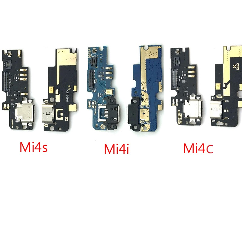 New For Xiaomi Mi4c Mi 4c Mi4 Charging Port Flex Ribbon Cable USB Charger Dock Connector Microphone Board