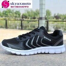 Бренд skyaxmoto Мужчины повседневная обувь 2017 Новое прибытие сетка обувь горячие моды mesh мужская обувь размер 36-44 A-8336