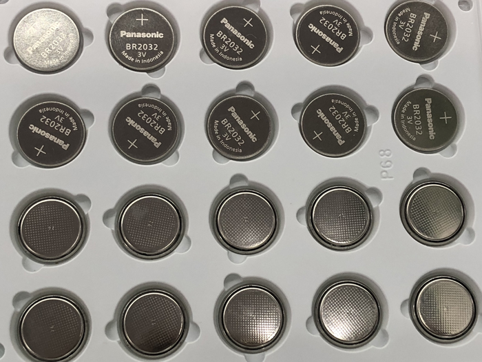 100pcs/lot New Genuine For <font><b>Panasonic</b></font> BR2032 BR <font><b>2032</b></font> 3V Battery High temperature Button Coin Cell Battery Batteries image