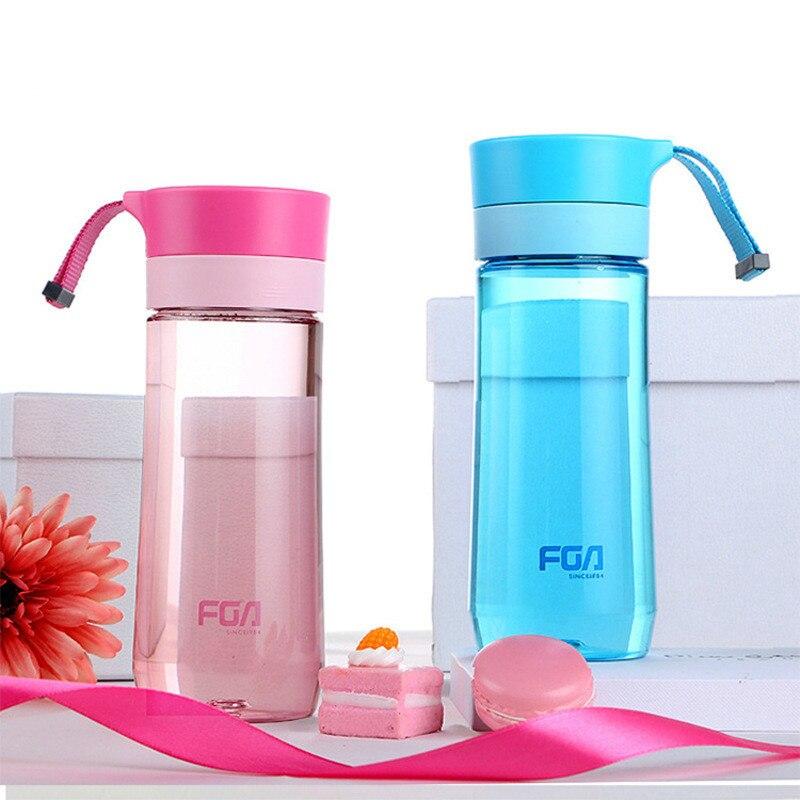 Высокое качество пластиковых ПК с фильтром 500 мл чайник воды напиток бутылка портативный студент чайник падение спортивной моды