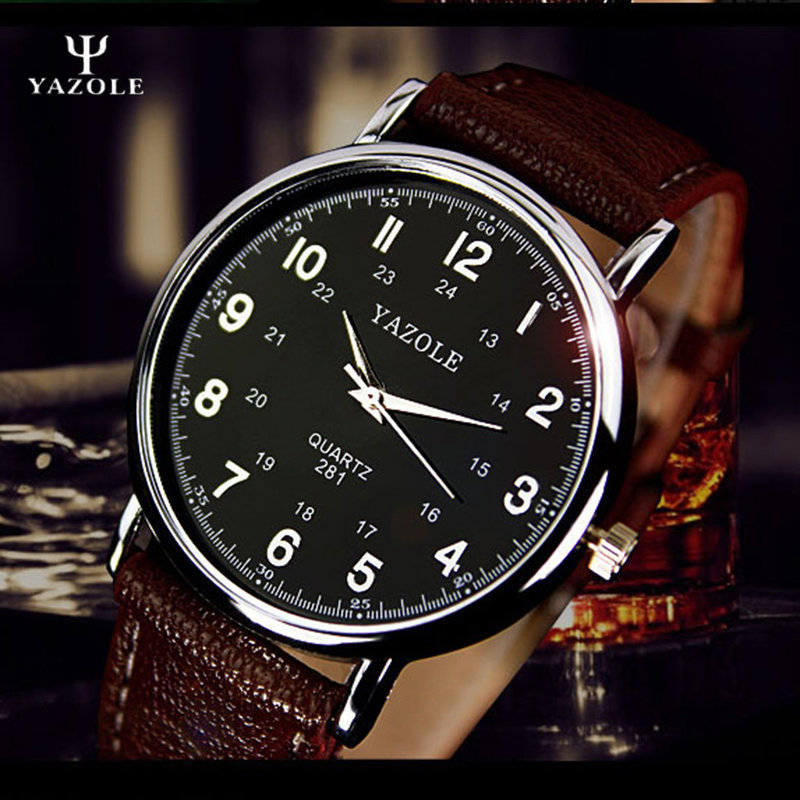 YAZOLE Mens Watches Top Brand Luxury Famous Quartz-Watch Men 24 Hours Scale Male Clock Wrist Whatch Wristwatch relogio masculino mens watches top brand luxury yazole famous wristwatches male clock quartz watch quartz whatch relogio masculino reloj hombre c
