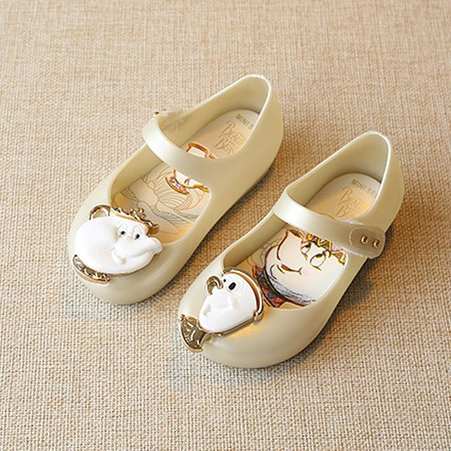 d3338eb77936 MINISED Trendy Mary Jane Shoes Boys Girls Sandals Waterproof Low-cut Jelly  Sandals With Cartoon Decor Beach Sandals for Kids Hot