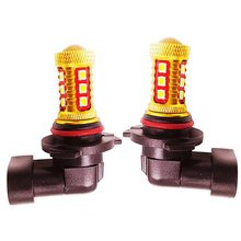 2 sztuk H11 H8 9006 HB4 High Power 3030 LED samochodów przednia żarówka przeciwmgielna Auto jazdy przeciwmgielne lampy przeciwmgielne światła 6000K biały 12V