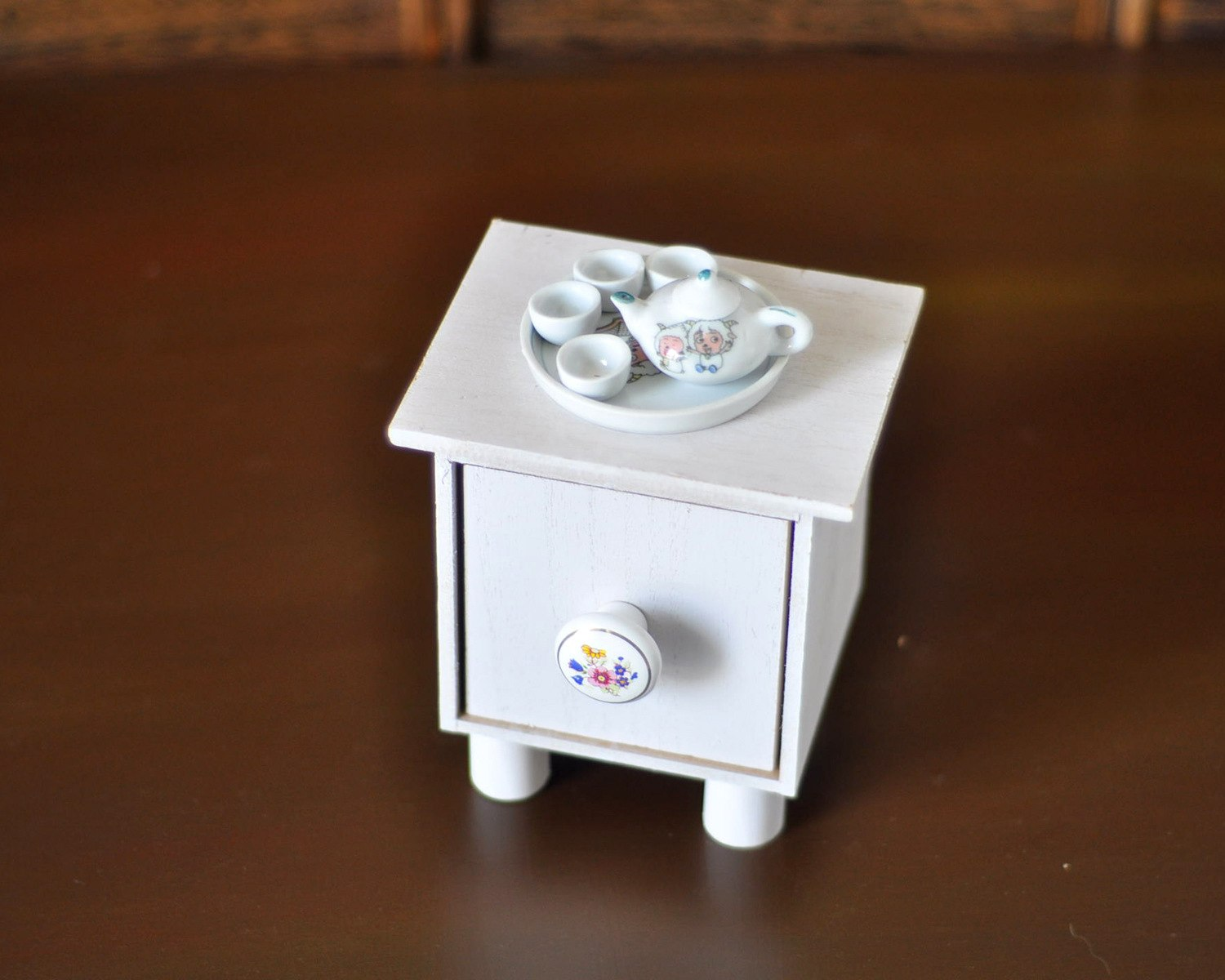 small tea table+ teapot +teacup newborn photography  props infantile lovely shooting  prop baby creative shooting accessory