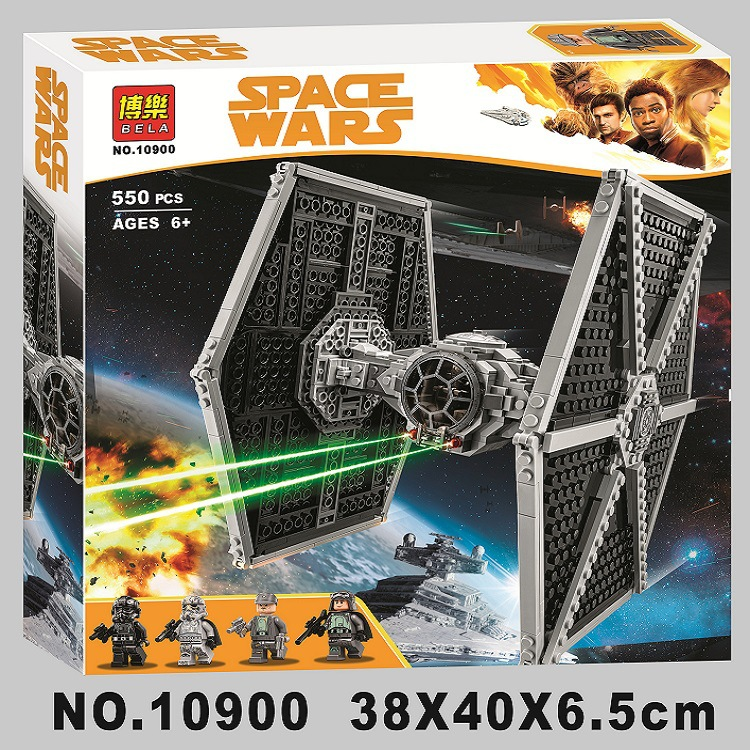 Toys & Hobbies Star Wars Space Ship Microfighters First-order Imperial Bricks Tie Fighter Toy Building Block Compatible With Legoing
