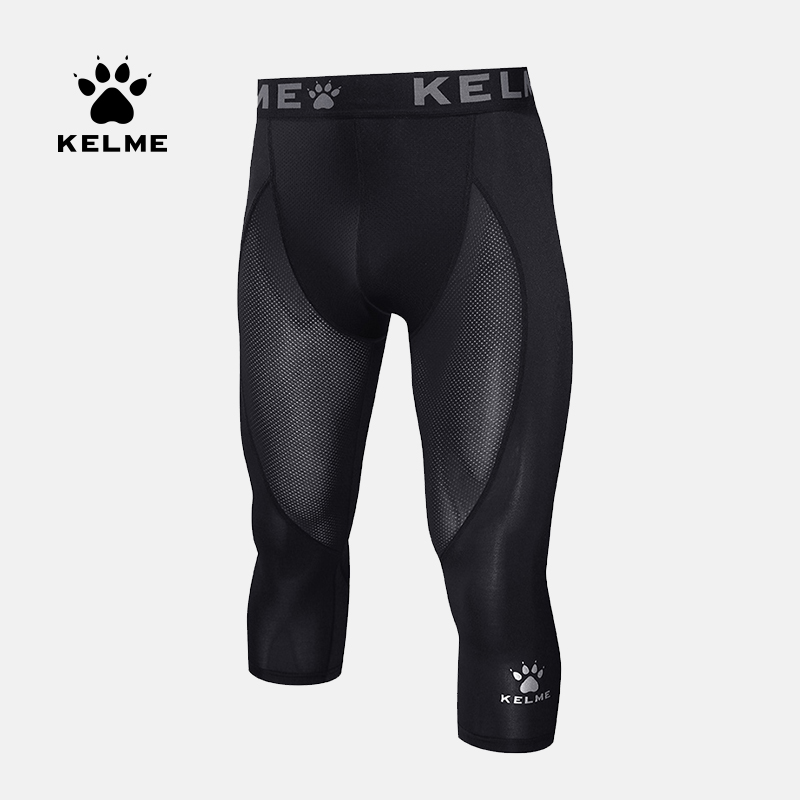 KELME Shorts de sport pour hommes Shorts dathlétisme pantalons de Compression exercice collants de course pour hommes Jogging Leggings séchage rapide 3981508