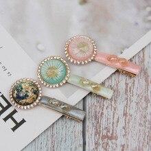 AHB Hair Accessories Alloy Clips for Women Barrettes Hairgrips Korean Rhinestones Hairpins Girls Vintage Pins