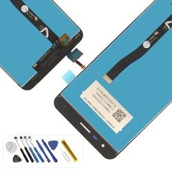 Oryginalny Z012D Z012DC Z012DA ZE552KL wyświetlacz lcd ekran dotykowy z narzędziami i wymiana kleju dla Asus ZenFone 3 ZE552KL w Ekrany LCD do tel. komórkowych od Telefony komórkowe i telekomunikacja na