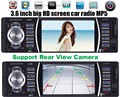 12 V Carro de áudio estéreo Jogador MP5 Rádio Do Carro 4.0 HD autoradio Bluetooth/retrovisor/MP3/MP4/áudio/Vídeo Receptor FM auto radio 1 din