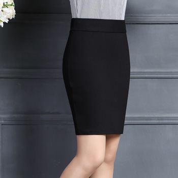 2019 New Women Skirt Work Fashion Stretch Slim High Waist Pencil Skirt Bodycon Sexy Mini Office Work Skirt Free Shipping 1
