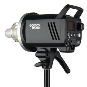 Image 3 - Godox MS200 200W veya MS300 300W 2.4G dahili kablosuz alıcı hafif kompakt ve dayanıklı Bowens dağı stüdyo flash